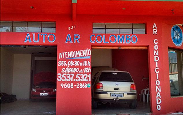 Oficina Auto Ar Colombo no Campo Pequeno perto do Rio Verde e Maracanã